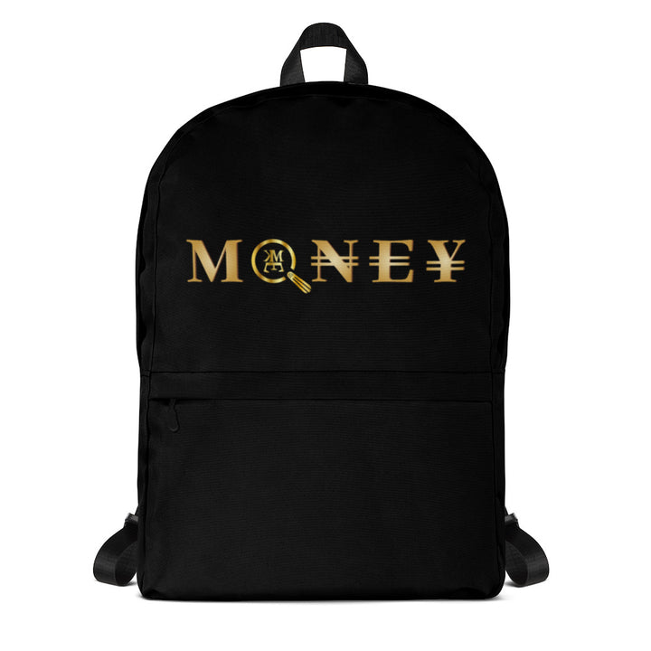 Gold Money Backpack
