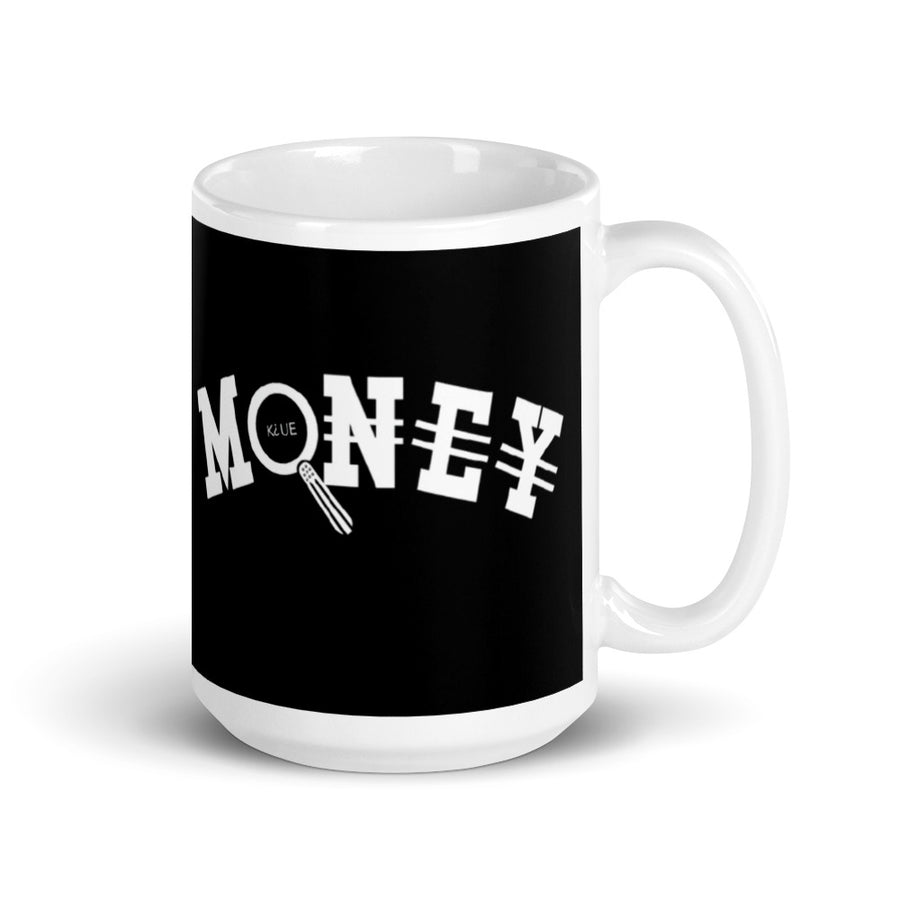Gold Money Mug (White)