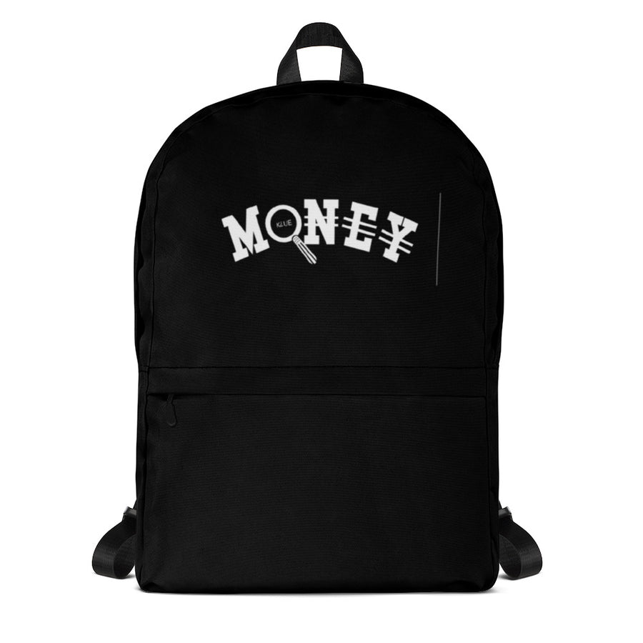 Gold Money Backpack (White)