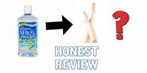 Witch Hazel for Spider Veins Review