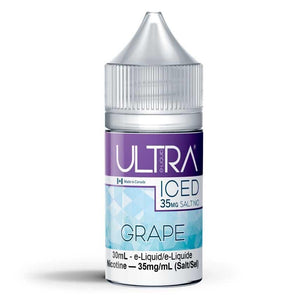 Grape Ice Salt Eliquid 35mg Bottleshot