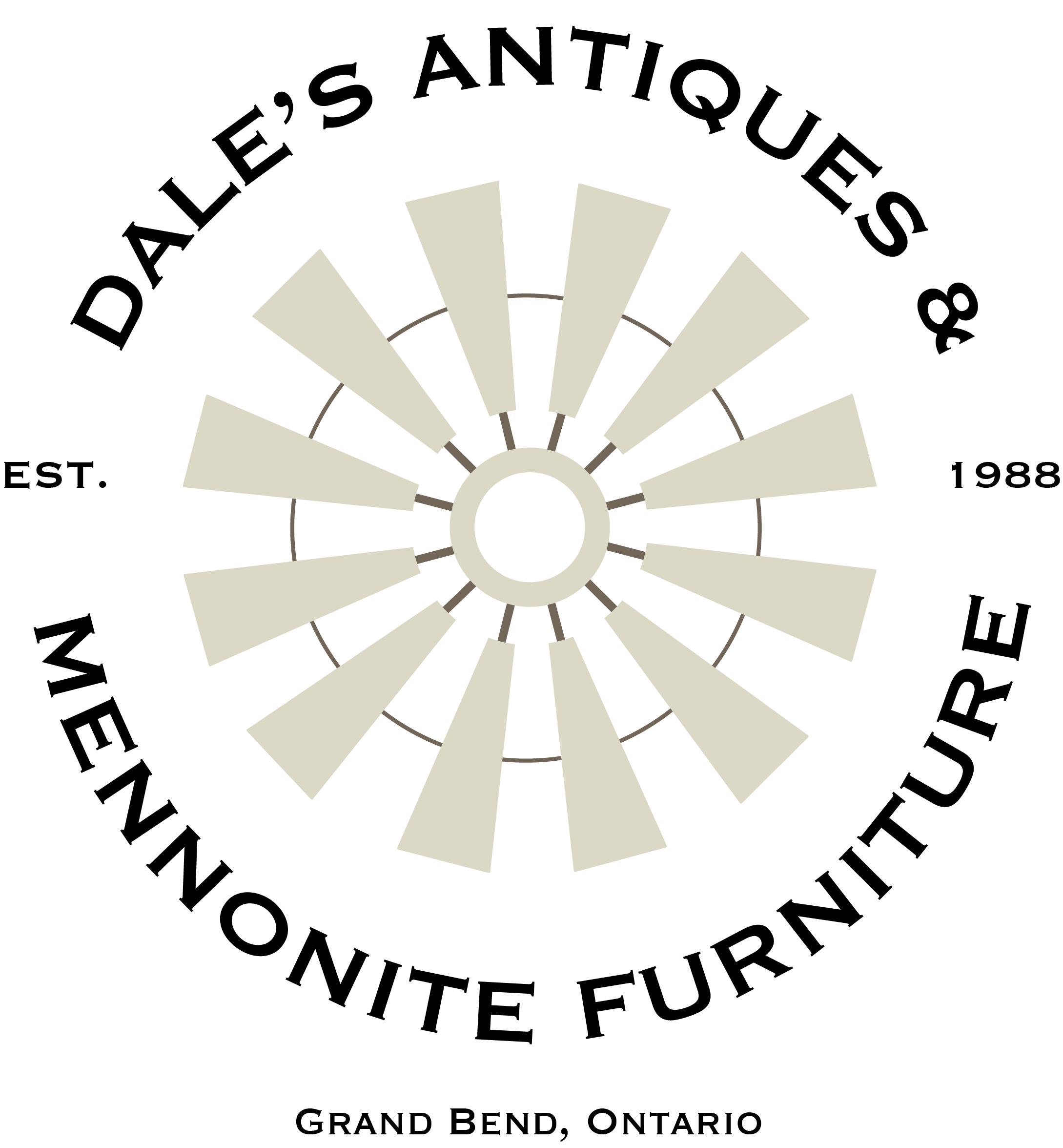 Dale's Antiques & Mennonite Furniture Logo
