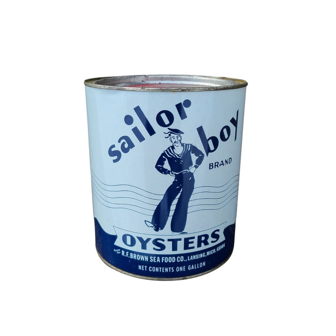 Sailor Boy Oysters Tin