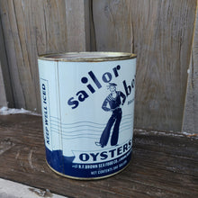 Load image into Gallery viewer, Sailor Boy Oysters Tin