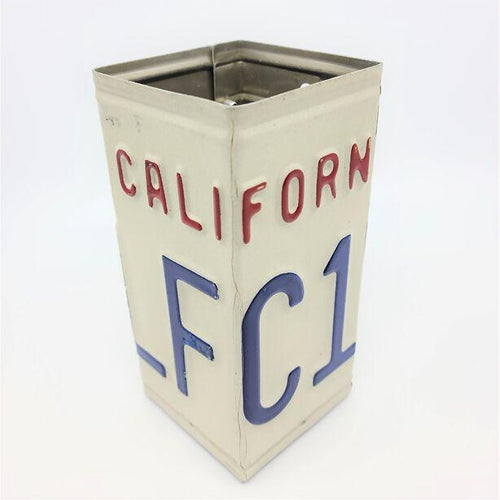 California License Plate Pencil Holder