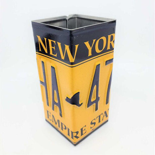 New York License Plate Pencil Holder