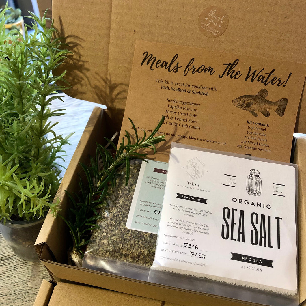 MEALS FROM THE WATER - LETTERBOX CREATIVE KIT