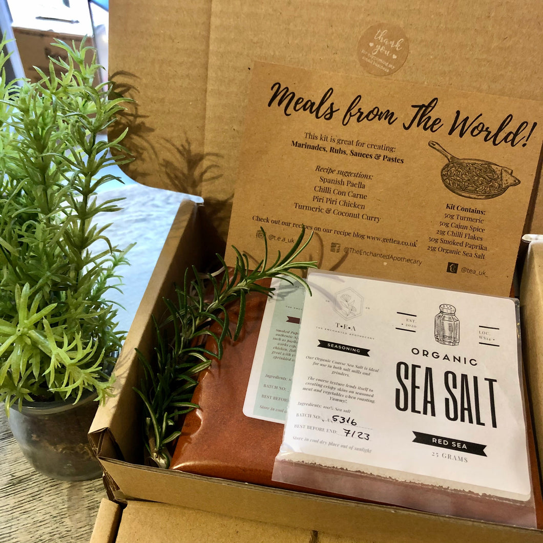 MEALS FROM THE WORLD - LETTERBOX CREATIVE KIT