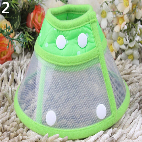 Puppy Pet Dog Cat Comfy Cone Neck Collar Anti-Bite Medical Recovery Protection