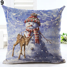 Load image into Gallery viewer, Christmas Xmas Santa Sofa Car Throw Cushion Pillow Cover Case Home Decor Gift