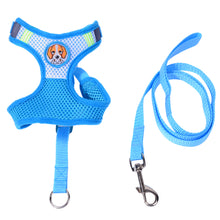 Load image into Gallery viewer, Pet Dog Cat Soft Adjustable Mesh Harness Walk Out Hand Leash Strap Cord Vest