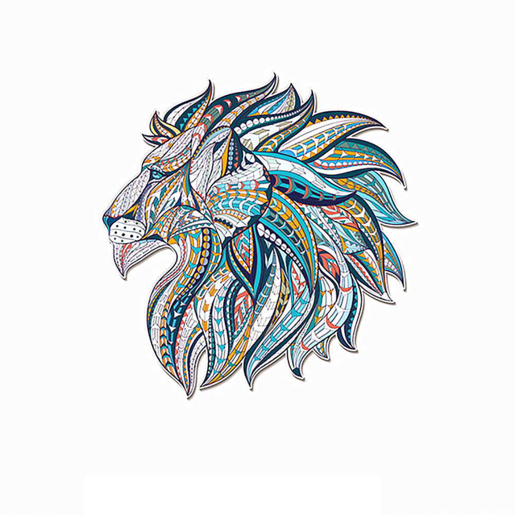 3D Clothes Colorful Horse Dragon Tiger Wolf Pattern Sticker Steam Iron Tool