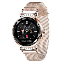 Load image into Gallery viewer, Smart Watch Fashion Women 3D Diamond Glass Heart Rate Blood Pressure Sleep Monitor Smartwatch Best Gift