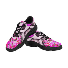 Load image into Gallery viewer, pink graffitti skulls Lyra Men's Chunky Shoe