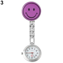 Load image into Gallery viewer, Brooch Pocket Watch Clip-on Nurse Watch with Lapel Hanging Butterfly Pendant