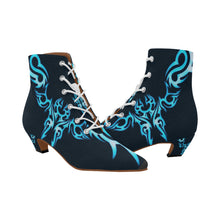 Load image into Gallery viewer, Women's Chic Low Heel Lace Up Ankle High Boots