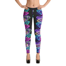 Load image into Gallery viewer, Diamond patterned women's Leggings