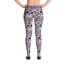 Load image into Gallery viewer, Skull candy patterned Leggings