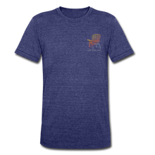 Load image into Gallery viewer, Bonfire Short Sleeve Tee - heather indigo