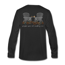 Load image into Gallery viewer, Pumpkin Patch Long Sleeve Tee - black