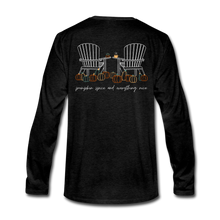 Load image into Gallery viewer, Pumpkin Patch Long Sleeve Tee - charcoal gray