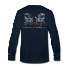 Load image into Gallery viewer, Pumpkin Patch Long Sleeve Tee - deep navy