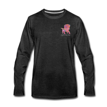 "Load image into Gallery viewer, ""Creativity Is Contagious"" Long Sleeve Tee - charcoal gray"