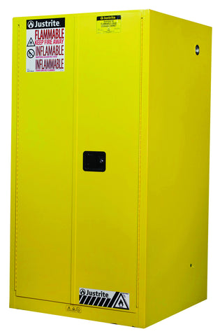 Sure-Grip® EX Flammable Safety Cabinet, 60 Gallon, Yellow