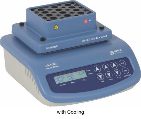 Thermo-shaker for Microtubes TS-100C, with cooling