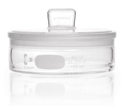 Duran® Weighing Bottle with ground lid