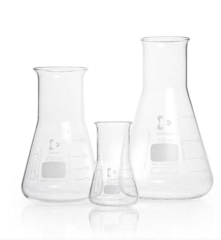 Duran® Erlenmeyer Flask, wide neck