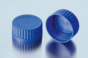 Duran® GLS 80® Quick Release Screw Cap, from PP, blue, with lip seal