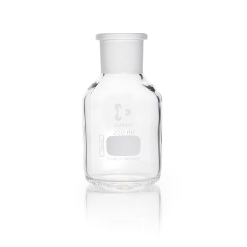 Duran® Reagent Bottle Wide Neck, with standard ground joint, clear