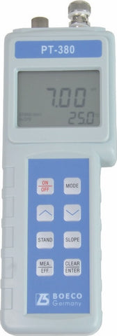 Portable PH/ORP/TEMP Meter Model PT-380