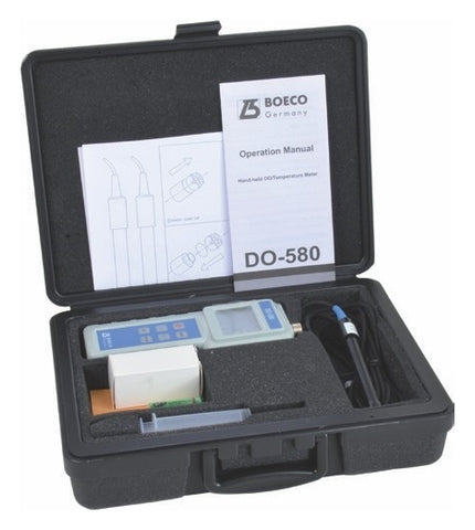 Portable DO/Temperature Meter, Model DO-580