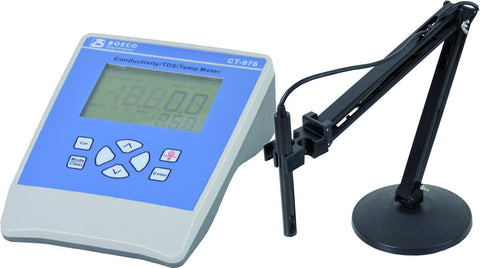 Bench Top Coductivity/Salinity/TDS/Temperature Meter, Model CT-676