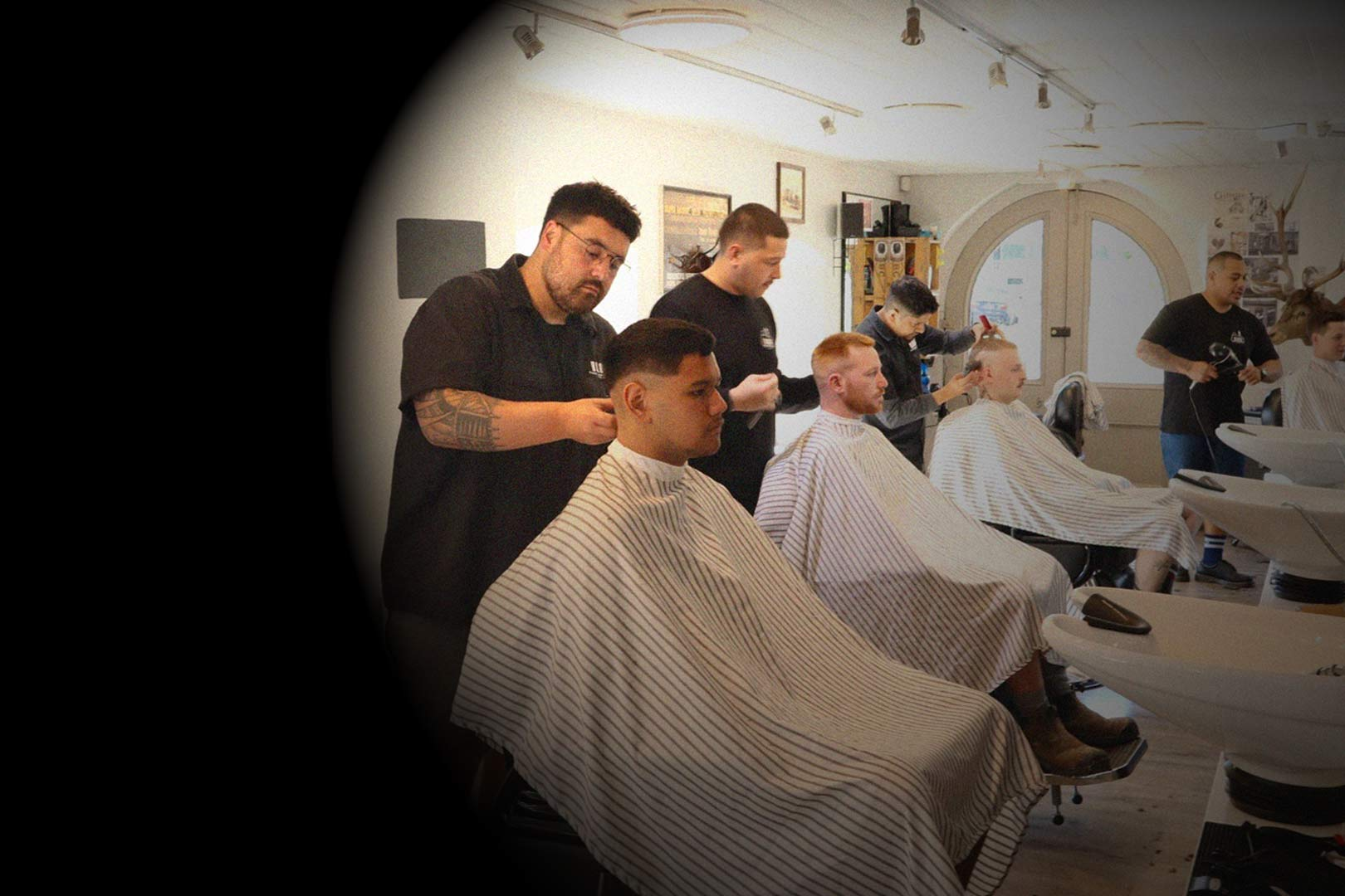 Come to Bloke barber Dunedin for a haircut by our trained hair stylists at 2 Dowling street Dunedin we have beard specialists and mens hairdressers to cut your hair shave your head give you a zero fade cut or get a cheap haircut in Dunedin