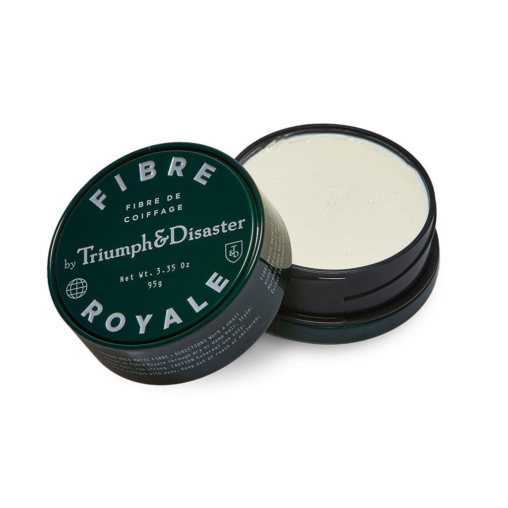 Fibre Royale Hair Product-triumph and disaster - 25g - 95g- STRONG HOLD hair product- NO VOLUME hair product- THICK HAIR TYPES- hair products for thick hair - hair products for long hair