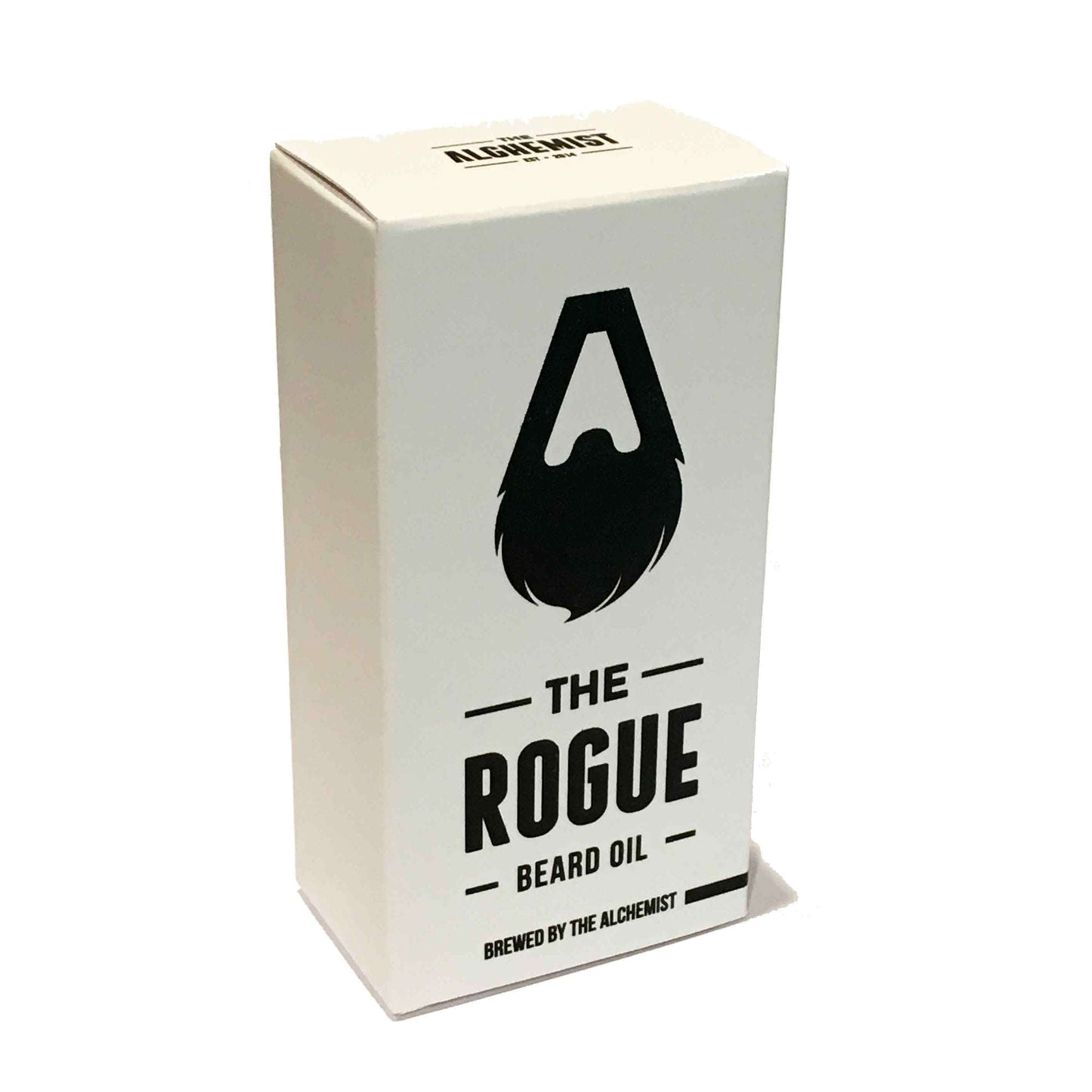 The Rogue all purpose oil by the alchemist_beard balm- bloke barbers dunedin - gifts for men