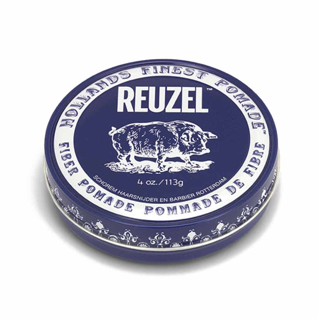 reuzel_fiber_pomade-min_FIRM AND PLIABLE pomade – LOW SHINE pomade – WATER SOLUBLE pomade thick hair pomade - pomade for short hair - vanilla pomade- hair styling gifts for men