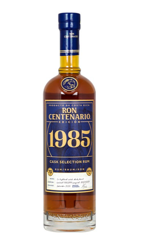 Rum Ron Centenario 1985 - Limited Jubiläumsedition - 0,7l 43% vol - Costa Rica