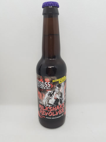 Boss Brewing Boss Milkshake Revolver - 5,0% vol. 0,33l - Peach Milkshake IPA