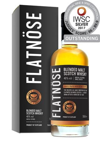 Flatnöse Blended Malt Scotch Whisky - 70cl 46% vol. - ein Wikinger Whisky!