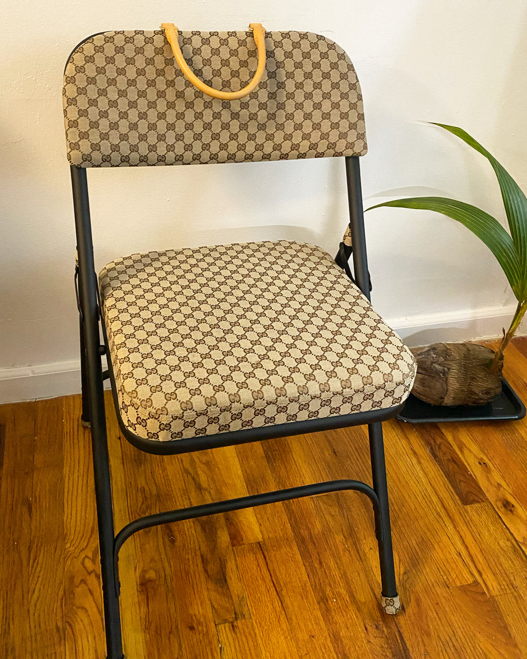 GG Monogram Folding Chair