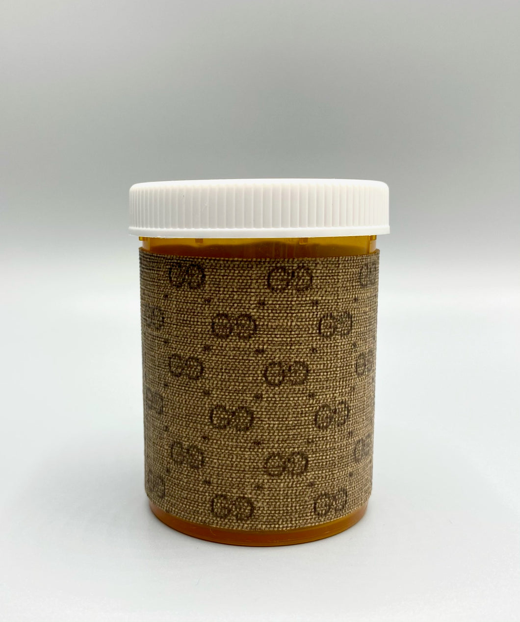 GG Mini Monogram Pill Bottle