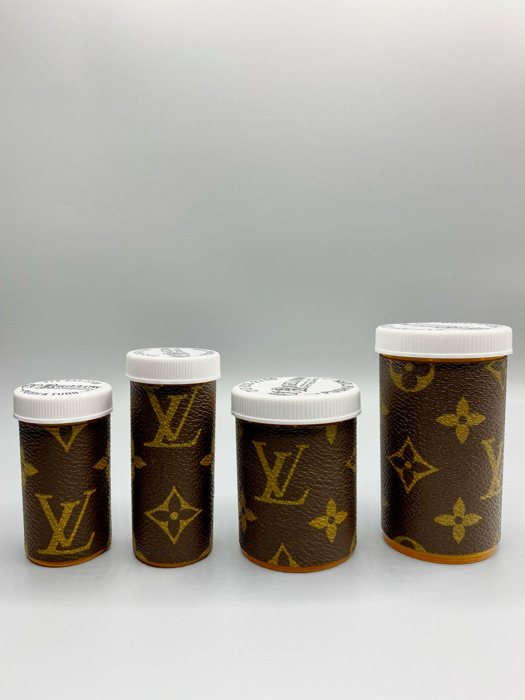 Monogram Pill Bottle