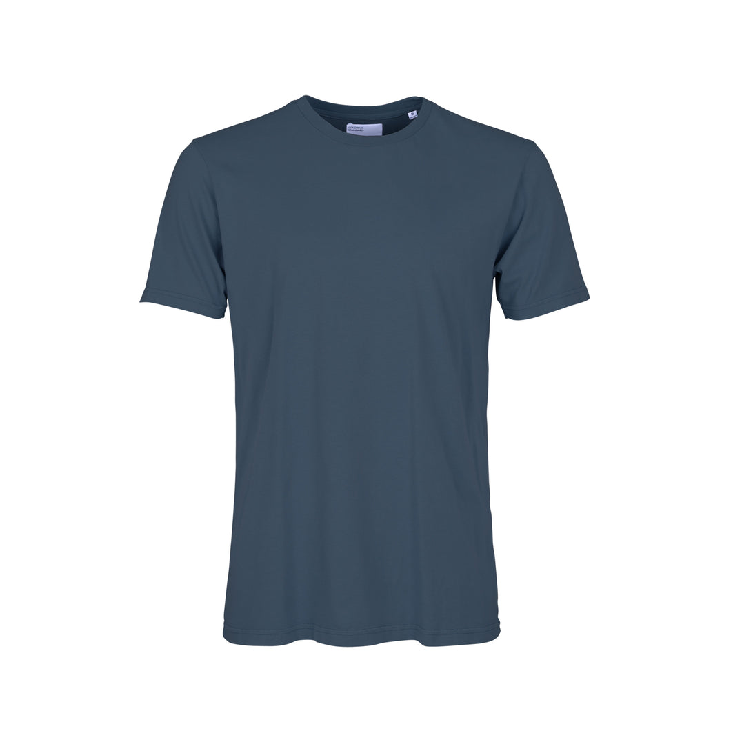 COLORFUL STANDARD TEE PETROL BLUE