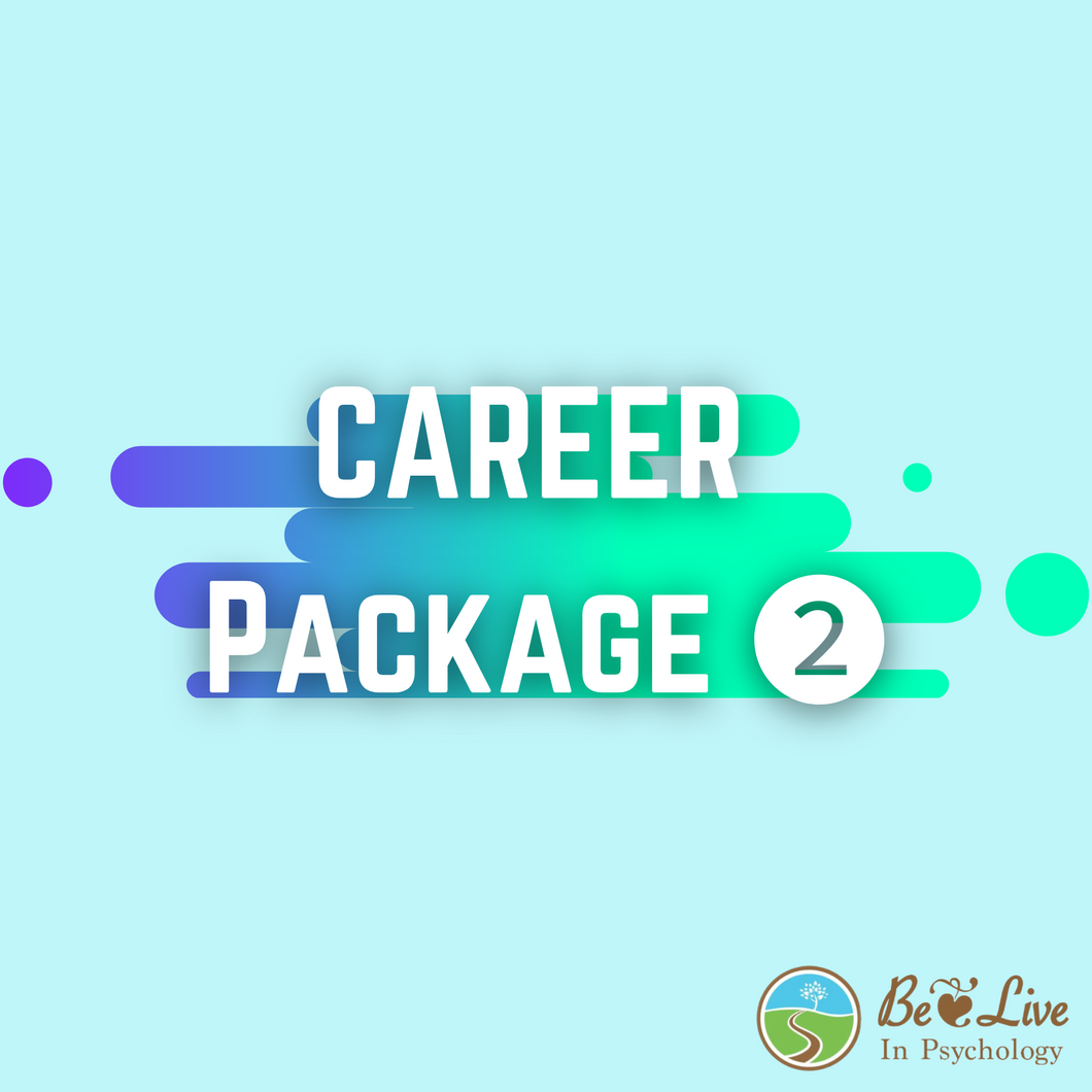 Career Package ❷: Career + Education Counselling