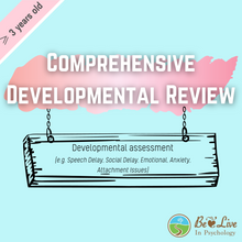 Load image into Gallery viewer, Psychological Assessment: Comprehensive Developmental Review ❷