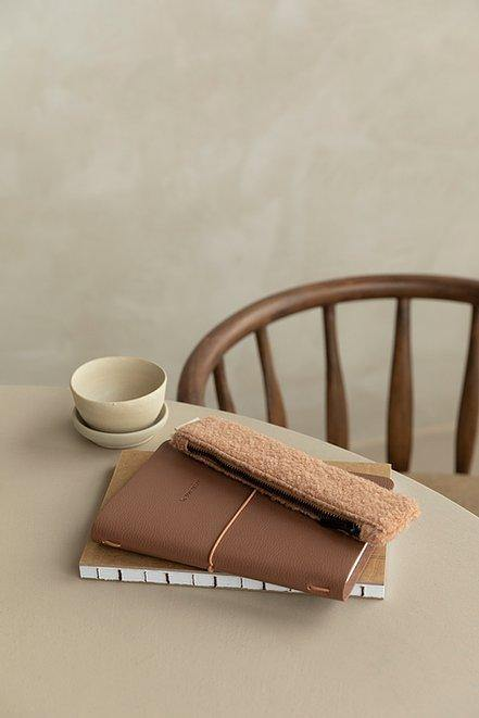 JOOS conceptstore | Notebook vegan leather cacao | Monk & Anna